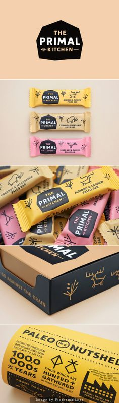 The Primal Kitchen packaging designed by Midday