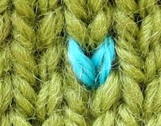 TECHknitting: Duplicate stitching on knitting--basic how-to + tricks for better results (part 1 of a series)