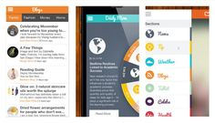 Daily Mom App: Actually quite good, aggregating your favorite feeds from the best blogs + news sources.