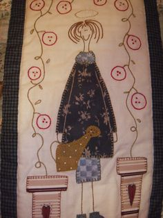 ANNI DOWNS Applique Designs, Quilting Designs, Embroidery Designs, Embroidery Applique, Cross Stitch Embroidery, Lynette Anderson, Annie Downs, Quilt Patterns, Stitch Patterns