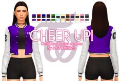 CHEER UP! Outfit & Jacket - The Sims 4 Maxis Match Outfit & Top Hey guys! Wooo it's finally happening! We started this mod almost a month ago but due to an issue we had we had to put it on hold, but...