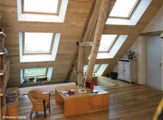 Rénovation d'une longère, photo Antonio Duarte fenêtre #bois