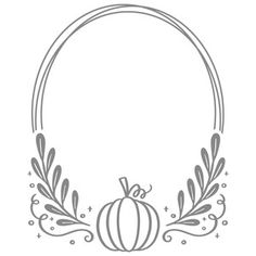 This design is intended to be cut with an electronic cutting machine. Fall Crafts, Holiday Crafts, Diy Crafts, Silhouette Cameo Projects, Silhouette Design, Oval Frame, Cricut Creations, Vinyl Projects, Craft Fairs