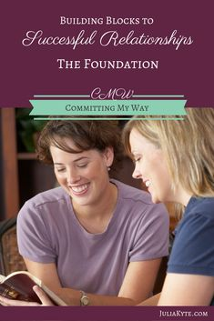 Successful relationships must begin with a proper foundation. This foundation is the most important relationship of all. And that is our relationship. Relationship Bases, Godly Relationship, Successful Relationships, Toxic Relationships, Healthy Relationships, Relationship Building, Romans Chapter 12, Romans 12, Sisters In Christ