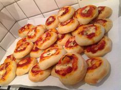 Rosticceria siciliana, le pizzette.
