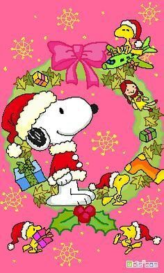 Merry Christmas Snoopy and Woodstock Peanuts Christmas, Christmas Cartoons, Christmas Greetings, Christmas Fun, Xmas, Snoopy Feliz, Snoopy And Woodstock, Charlie Brown Y Snoopy, Charlie Brown Christmas