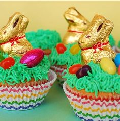 Easter idea for cupcakes