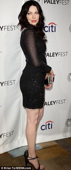 The gorgeous Laura Prepon, reason I feel confident in being so tall.