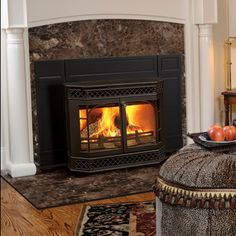 cast iron fireplace inserts wood burning with blower wood burning