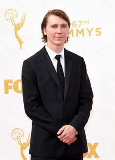 Actor Paul Dano attends the 67th Annual Primetime Emmy Awards at Microsoft Theater on September 20, 2015 in Los Angeles, California.