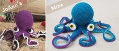 Giant Amigurumi Octopus! + Free Pattern Link! #summerofjoann
