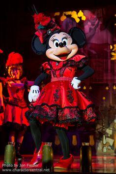 2014 - Minnie Mouse at The Diamond Horseshoe