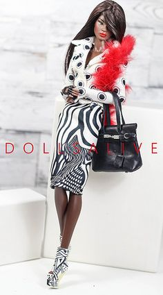 Red Kiss collection | by dollsalive