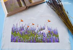 Lavender & Geese, it has that charm, that makes you smile.