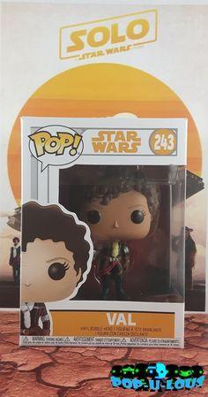 FUNKO POP STAR WARS #243 VAL Star Wars Timeline, Funko Pop Star Wars, Bobble Head, Stars, Shop, Sterne, Star, Store