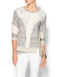 Rebecca Taylor Pieced Sweatshirt $350