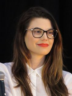 Meghan Ory during his Storybrooke UK panel on April 23rd, 2016