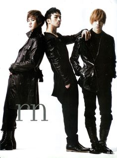 MBLAQ - Marie Claire Magazine 2009 --- Seung Ho, GO, and Mir