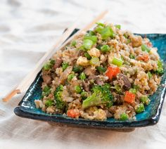 Cauliflower Fried *Faux Rice   Baked In