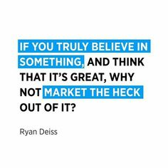 If you truly Believe in something, and think that it's great, Why not market the heck out of it ? New Business Ideas, Business Emails, Business Branding, Online Business, Digital Marketing Strategy, Digital Marketing Services, Facebook Marketing, Online Marketing, Email Campaign