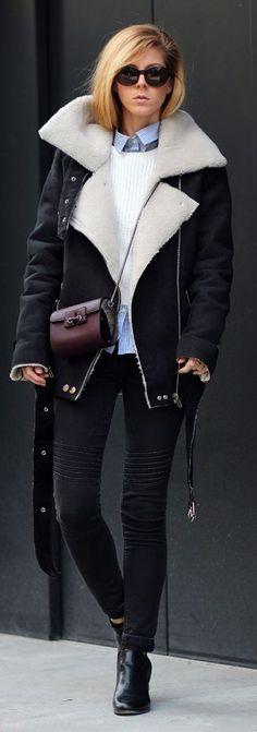 Shearling Jacket by Sirma Markova