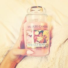 Yankee Candles! ♥ Smell amazing!:)