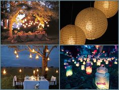 Out door wedding ideas