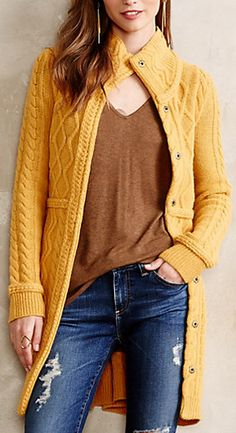 Marigold sweater #anthrofave