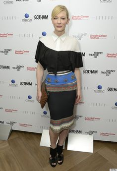 """We ADORE Cate Blanchett, but this outfit is an absolute """"no-no."""""""