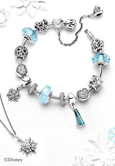 Zoey would love to get this exact bracelet! Maybe that's a little extravagant for  a 10 yr old! lol Pandora Frozen