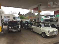 This next Fill Up Friday has been shared by our good friend Richard Rosier and features a wicked Elf fronted Mini Van. Looks too cool along with the Mk2 n Rover Cooper! Sweet Forecourt takeover  Thanks for the share Richard