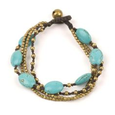 BillyTheTree Jewelry Teal Plastic Bangle Bracelet with Simulated Crystals