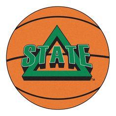 """Delaware State Hornets Ncaa """"basketball"""" Round Floor Mat (29"""")"""