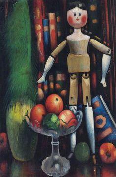 GERTLER, Mark British (1891-1939)_The Doll - 1914