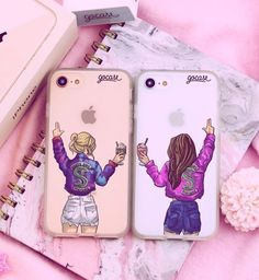 Every brunette needs that blonde - BFF Bilder - Phonecases Best Friend Cases, Bff Cases, Friends Phone Case, Funny Phone Cases, Cute Cases, Diy Phone Case, Iphone Phone Cases, Best Friend Gifts, Matching Phone Cases