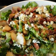 Roquefort Pear Salad Recipe - Allrecipes.com Hubby loves this salad! I need to really take the time to make it more often