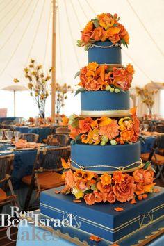 Ron Ben-Israel Cakes - A super elegant way to throw in that Auburn Theme. :)