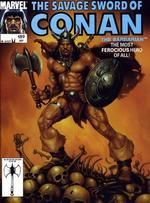 SAVAGE SWORD OF CONAN #189 - Marvel
