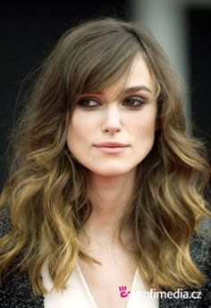 Keira Knightley's hair