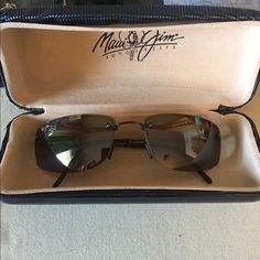 HPMaui Jim sunglassesHP Host Pick Style Staples Party 5/8Worn once.  Maui Jim sunglasses with brown lenses and dark brown sides☀️ Maui Jim Accessories Sunglasses