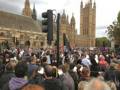 London: Anti-Badger cull protesters unite with Anti-Fascists