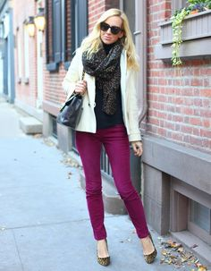 5 coisas: Visuais com calça colorida