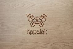 Butterfly logo by saidmakhmud on @creativemarket