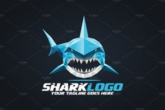 Ad: Shark Logo by herulogo on Logo template suitable for businesses and product names. Easy to edit, change size, color and text. Ai, and EPS formats fully editable Main Teeth Logo, Shark Pictures, Shark Logo, Knee Tattoo, Fish Illustration, Logo Design, Graphic Design, Great White Shark, Modern Logo