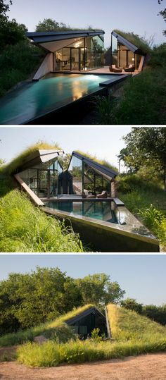Modern Semi-Underground Homes That Become One With The Land