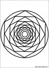 free-mandala-coloring-pages-for-kids-printable-coloring-worksheets - Coloring Pages For Kids Mandala Pattern, Zentangle Patterns, Mandala Art, Mandala Design, Free Printable Coloring Pages, Coloring For Kids, Coloring Pages For Kids, Coloring Book, Stained Glass Patterns