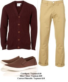 beige chinos Beige Chinos, Dapper, Latest Fashion Trends, Men Fashion, Menswear, My Style, Sweaters, How To Wear, Clothes