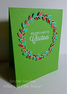 What did I do today?: Papertrey Ink October 2014 Blog Hop + Merry Monday #131