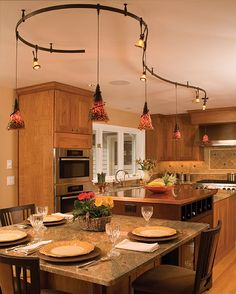 track lighting for kitchen island granite kitchen countertop island bartop 8568