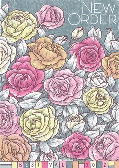 Like how the roses are colored and the leaves are left sort of blank